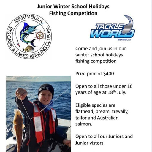 junior winter fishing comp merimbula