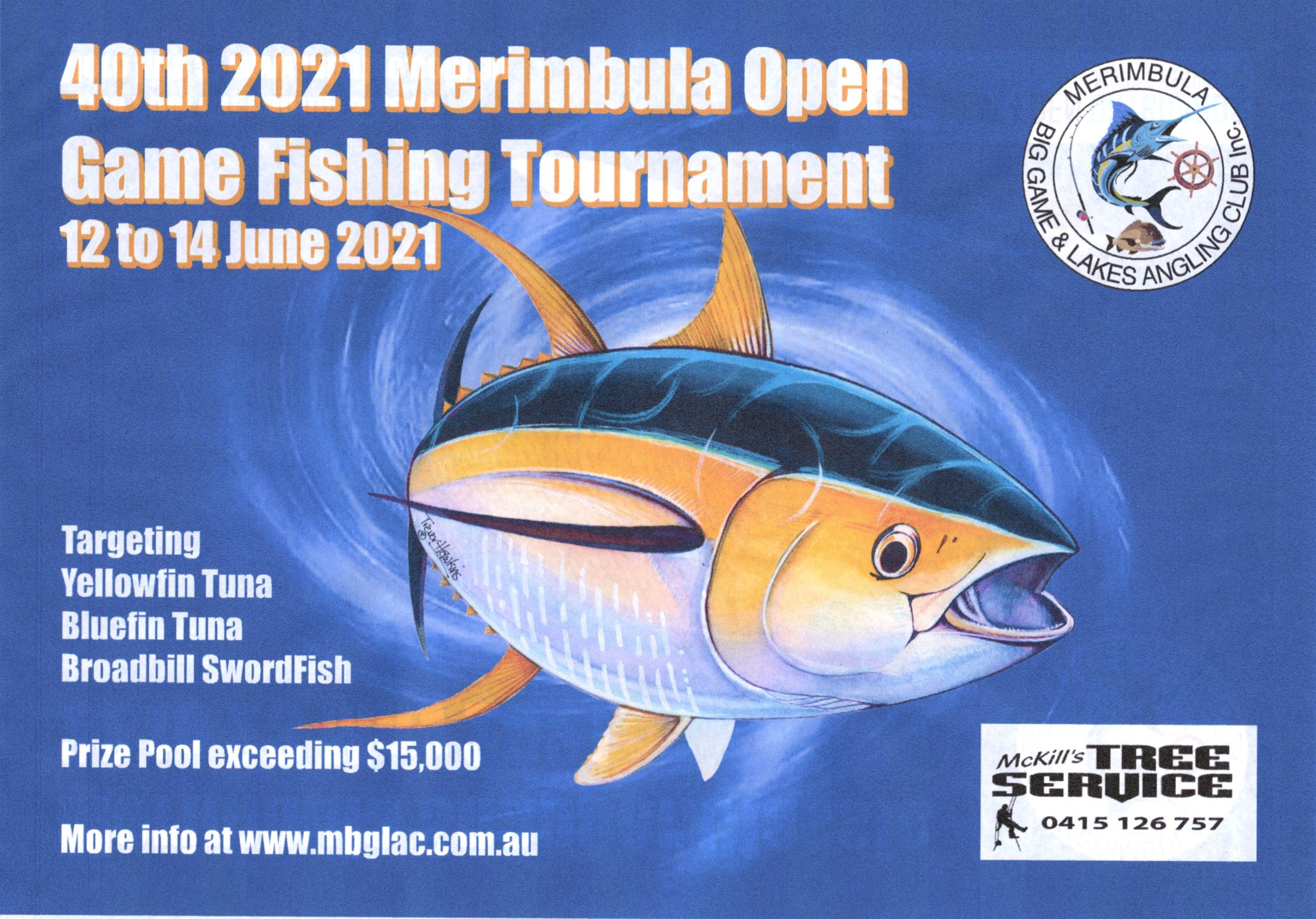 merimbula open game fishing tournament